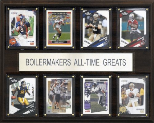 (NCAA Purdue Boilermakers All-Time Greats Plaque)