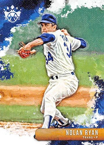 (2019 Diamond Kings Baseball #33 Nolan Ryan Texas Rangers Official MLBPA Trading Card From Panini )