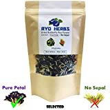 20 grams , Pure Petal Blue Herbal Tea – Dried Butterfly Pea Flower , Selected Pure Petal (No sepal) suitable for Tea and Food coloring and Hair treatments, Herb from Thailand For Sale