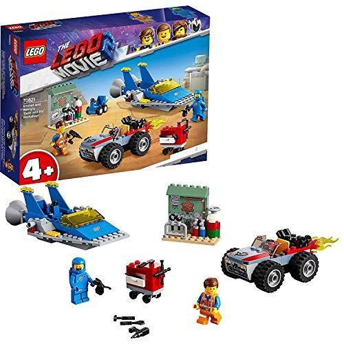레고 (LEGO) レゴム?ビ? 개미와 베 니의 「 빌드 및 수정 」 워크샵 70821 블록 장난감 여 아 소년 / LEGO Lego Movie Emmett and Benny`s \\