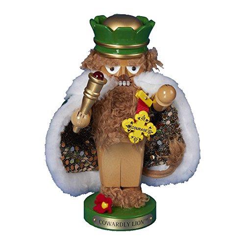 Kurt Adler Steinbach Chubby Wizard of Oz Cowardly Lion Nutcracker, 11-Inch