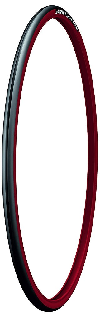 Michelin Dynamic Sport 700X23 - Cubierta de bicicleta, color negro / rojo product image