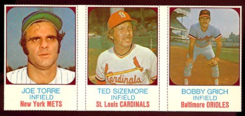 1975 hostess panels (Baseball) Card# 24 torre, sizemore, grich NrMtBtr Condition - 1975 Hostess Baseball
