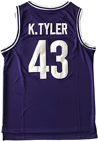 BOROLIN Kenny Tyler Shirts #43 K.Tyler Movie Basketball Jersey