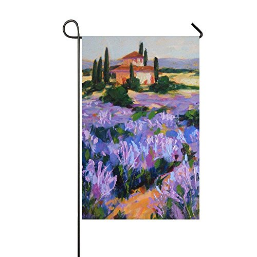 Outdoors Seasonal French Lavender Garden Flag Assortment of 12-inch x 18-inch Garden Flags, Yard and Home Outdoor Decor -