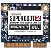 MyDigitalSSD Super Boot 2 (SB2) 25mm SATA III (6G) Half-Size mSATA Mini SSD (64GB)