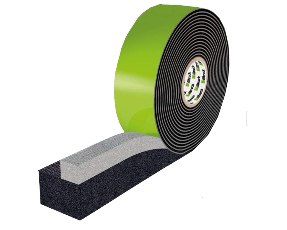 Multi-purpose compressed tape, TP652 illmod trioplex plus, 77/6-10 (S), 8m roll Tremco Illbruck