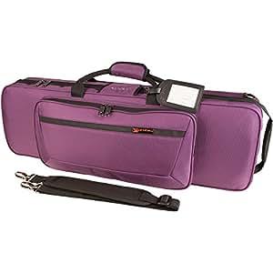 Protec PS144TLPR - Estuche para violín, color violeta