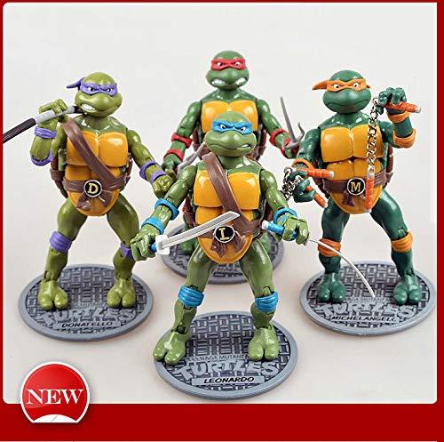 Adwe Teenage Mutant Ninja Turtles Figuras Personas ...