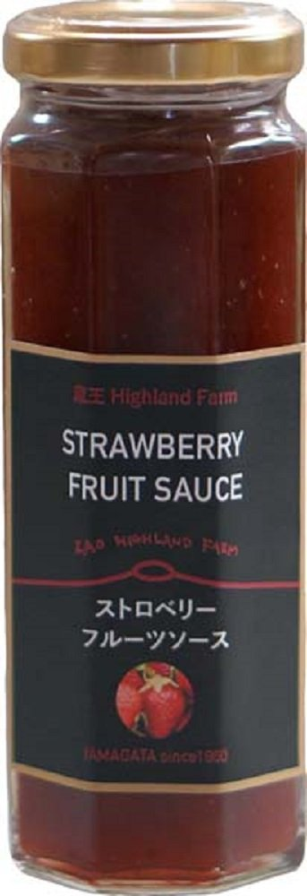 160gX6 pieces Wakayama industry Zao HighlandFarm fruit sauce Strawberry