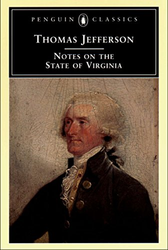 Books : Notes on the State of Virginia (Penguin Classics)