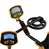 MD3010II Professional Metal Detector Undeground Gold Digger with LCD Display