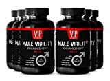 Best Libido Booster for Sexual Health and Desire - Male Virility Supplement to Increase Energy and Stamina (6 bottles 360 tablets)