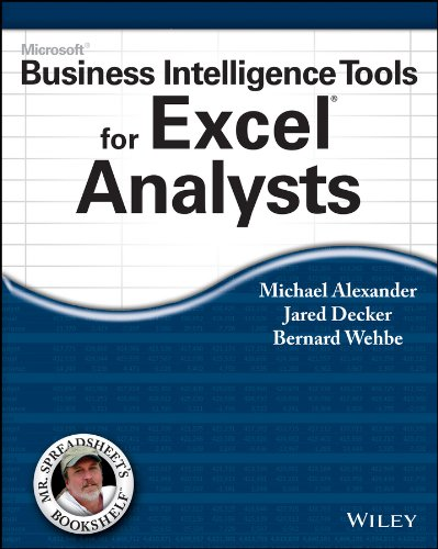 Microsoft Business Intelligence Tools for Excel Analysts Pdf