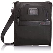 Tumi Alpha 2 Pocket Bag Small, Black, One Size