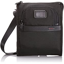 Tumi Alpha 2 Pocket Bag Small, Black, One Size