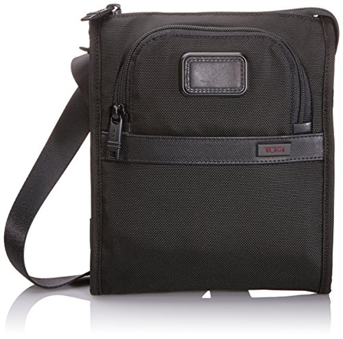 Tumi Alpha 2 Pocket Bag Small, Black, One Size by Tumi