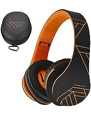 PowerLocus Bluetooth Over-Ear Kopfhörer, Kabellos Stereo Faltbare Kopfhörer Kabellose