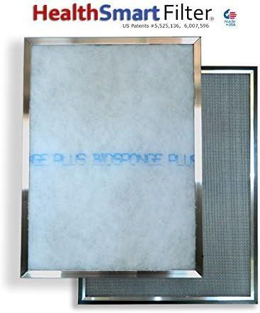 1 BioSponge Plus Replacement Furnace filter with AIRTEVA 12 1//2 x 21 AC filter