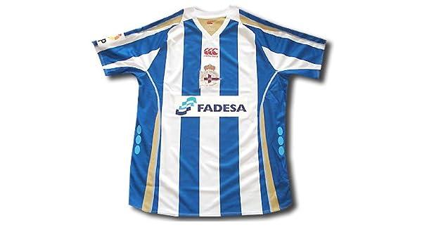 Deportivo la Coruna away shirt junior 2008-09 size junior: Amazon.es: Deportes y aire libre