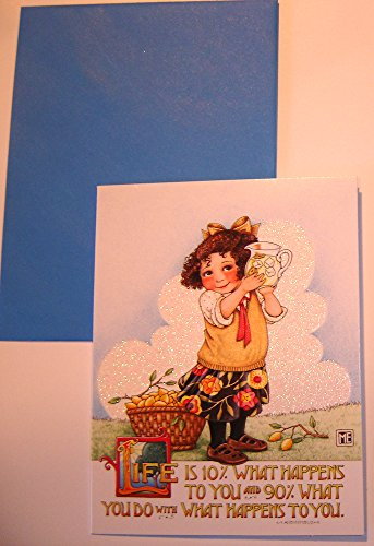 Mary Engelbreit Glitter Greeting Card