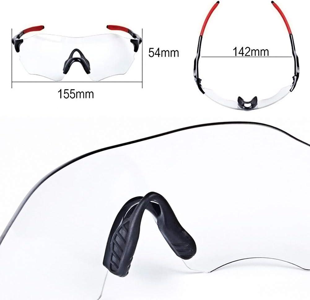 Mujeres Lesrly-Cycle Gafas de Sol Deportivas fotocrom/áticas polarizadas sin Marco para Hombres Gafas de Ciclismo con Correa Lente TAC con protecci/ón UV400 Ciclismo//Conducci/ón//Pesca