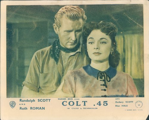 COLT 45 RUTH ROMAN LLOYD BRIDGES ORIGINAL LOBBY CARD