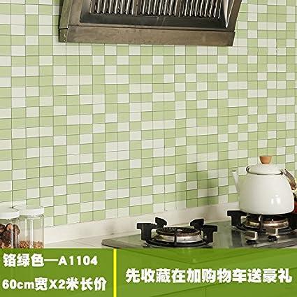 El humo de aceite de cocina armario estufa pegatinas con renovación de pared resistente a alta