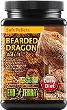 Exo Terra Soft Adult Bearded Dragon Food, 8.8-Ounce