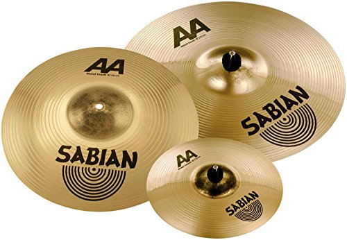 (Sabian AA Metal Crash Pack with free 10