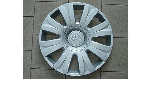 Juego de Tapacubos 4 Citroen C3 Picasso Tapacubos Diseño 2009 r 15: Amazon.es: Coche y moto