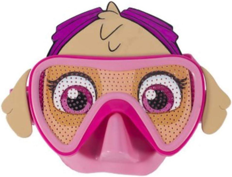 F SDRTYHJ Schwimmbrille Cartoon Kinder Anti-Fog Schwimmbrille Brille Wassersport Pool Augenschutz Einstellbare Kinder Silikon Große Schwimmbrille