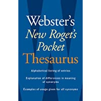 Websters New Rogets Thesaurus