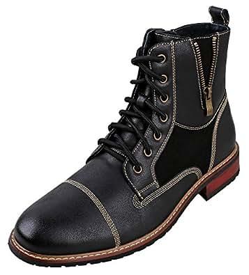 Amazon.com | Ferro Aldo Andy Mens Ankle Boots | Combat
