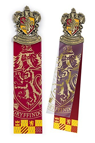 - The Noble Collection Harry Potter Gryffindor Crest Bookmark