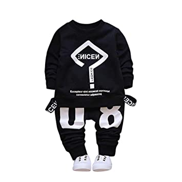 920ac3197f8eb5 カジュアル プリント 2 点セット(上着+パンツ) ベビー服 男の子 赤ちゃん服 幼児