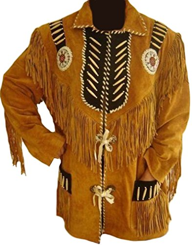 Coolhides Unisex Western Fringes And Bon - Beaded Suede Jacket Shopping Results