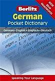 German Pocket Dictionary (Berlitz Pocket Dictionary)