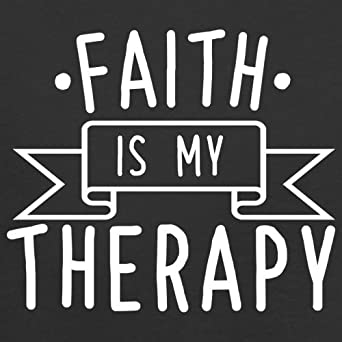 8 Colours Ages 3-24 Months Dressdown Faith is My Therapy Baby//Toddler T-Shirt