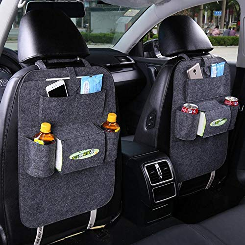 Fenido Auto Car Back Seat Multi Pockets Storage Organizer Holder Bag Seat Back Organizers