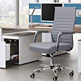 Renda Mid-Back Ribbed Conference Chair