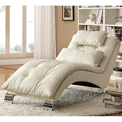 Home Furnishings (Coaster Home Furnishings Contemporary Chaise,)