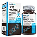Best Minerals - Complete Multi Mineral Supplement for Men & Women - Boost Performance, Fluid Balance & Hydration w/Trace Minerals, Calcium, Magnesium, Chromax Chromium, More - Keto Friendly 120ct