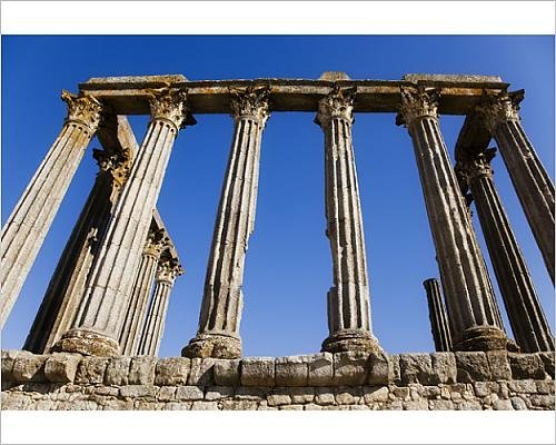 Photographic Print of Ancient roman - Ceasars Forum