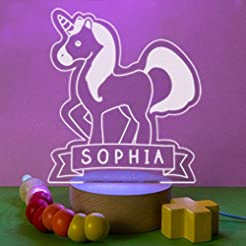 Personalized Unicorn Gift Night Light fo...