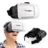 OCT17 3D Glasses VR Box Virtual Reality Headset Game Video For iPhone Android IOS Samsung HTC