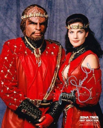 TERRY FARRELL as Jadzia Dax - Star Trek: Deep Space Nine Genuine Autograph from Celebrity Ink
