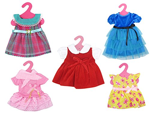 Brynhildr 5 Pack 16-18 Inch Doll Clothes