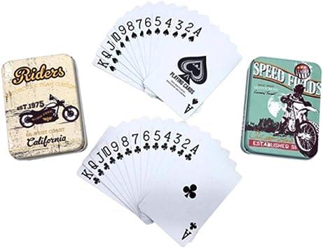 2 Set / Lot Caja de hojalata Caliente PVC Texas Holdem Poker ...