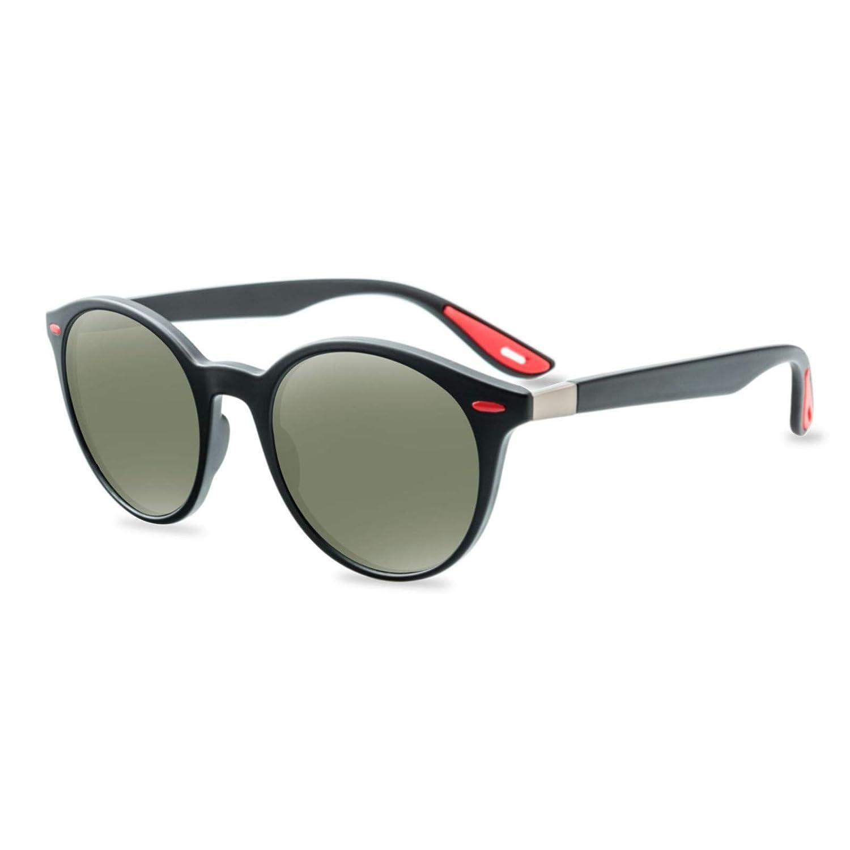 Aotifu Polarized UV400 Vintage Retro Round Sunglass Unisex Polarized Aluminum Outdoor Riding Glasses Sports Sun Glass
